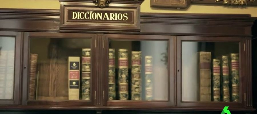 Interior de la Real Academia Española
