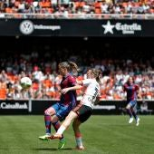 Encuentro entre el Valencia y Levante femenino