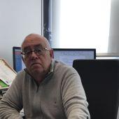 El magistrado José de Madaria en su despacho de la Sección Séptima de la Audiencia Provincial de Alicante.
