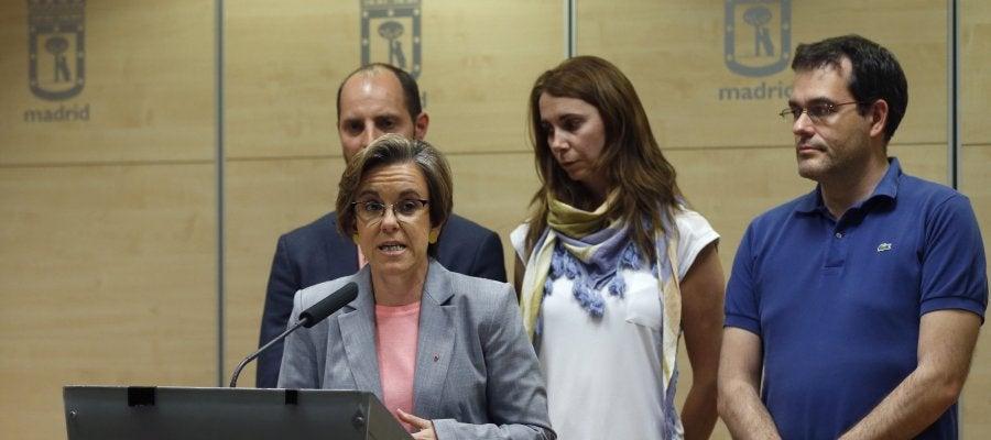 Purificación Causapié, portavoz del PSOE de Madrid