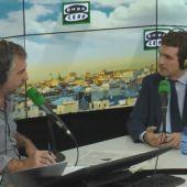 Frame 876.113416 de: Entrevista completa a Pablo Casado en Más de uno