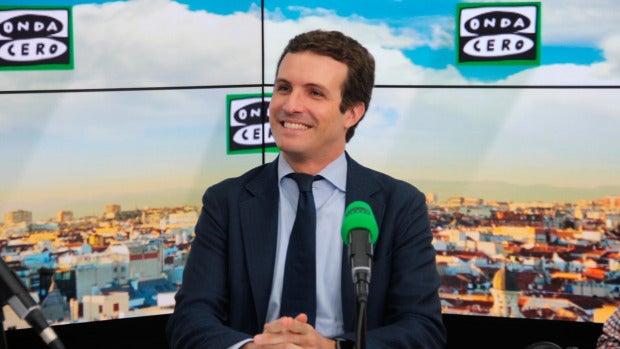 """Pablo Casado: """"Lo mejor que puede hacer Puigdemont es convocar elecciones el día 2 de octubre"""""""
