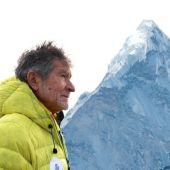 El alpinista español, Carlos Soria.