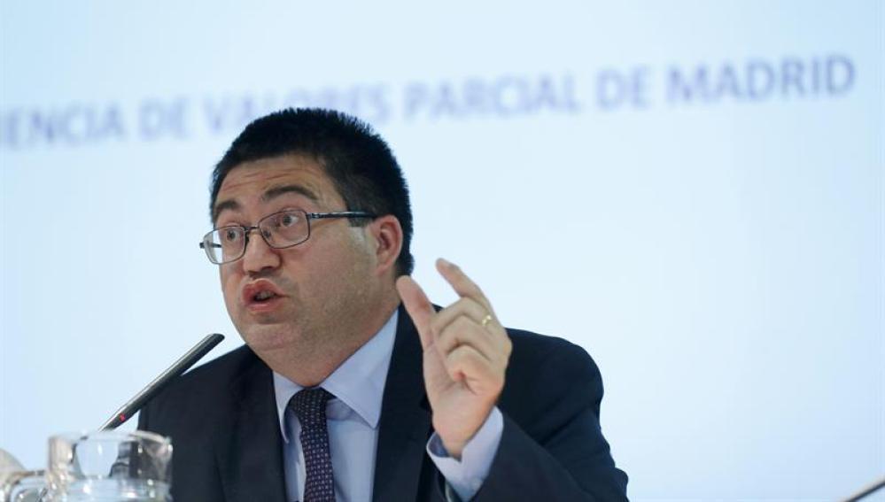 El exconcejal de Hacienda y Economia del Ayuntamiento de Madrid, Carlos Sanchez Mato
