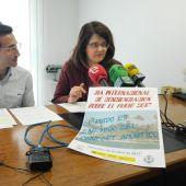 La letrada Manuel Navarro y Francisco José Gómez, miembros de la Asociación Afectados por el Ruido de Elche.