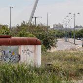 Imagen de archivo de las inmediaciones del estadio de la Cartuja de Sevilla