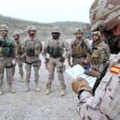 Miembros del Ejército español