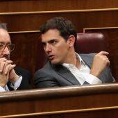 Rivera y Girauta en el Congreso