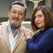 Mariano Peña y Ane Gabarain en 'Allí Abajo'