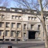 fachada del colegio El Salvador, en la plaza de San Pablo de Valladolid