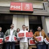 El equipo de Susana Díaz presenta en Ferraz sus avales