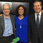 Isabel Gemio, Antonio Garrigues Walker y Federico Mayor Zaragoza