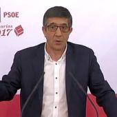 """Frame 10.463905 de: Patxi López: """"Fue un error abstenerse, pero mirar al pasado no nos lleva a ningún lado"""""""