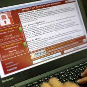 Un programador muestra la captura de pantalla en la que se pide un rescate en bitcoins