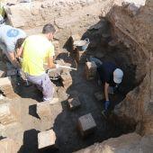 Las excavaciones arqueológicas en La Alcudia de Elche sacan a la luz nuevas termas.