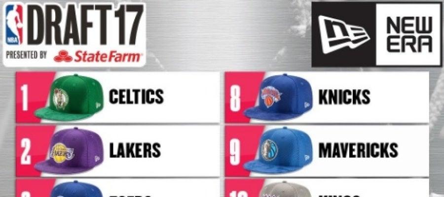 Orden de elección en el Draft 2017 de la NBA