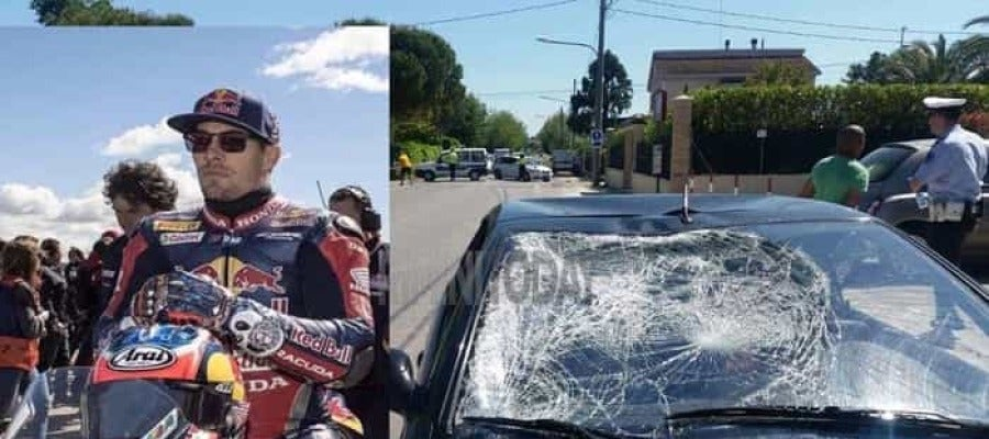 Imagen del accidente de Hayden