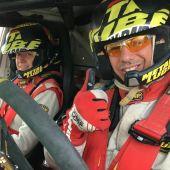 Pochola Hernández y Jose Augusto González 'Capu', pilotos del Metal Lube Rally Raid Team