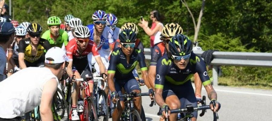 Nairo Quintana, en la etapa 19 del Giro de Italia