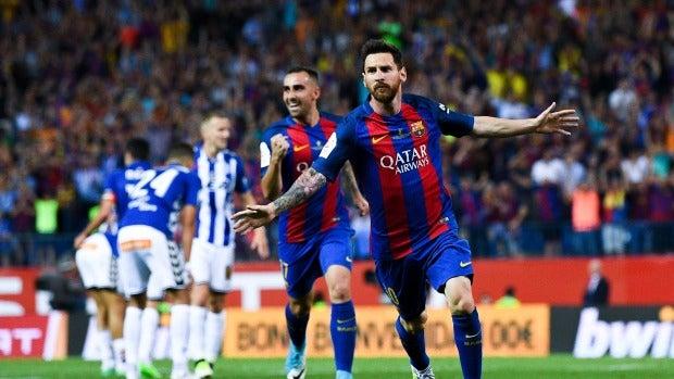 Barcelona 3-1 Alavés. EL FC Barcelona, campeón de la Copa del Rey