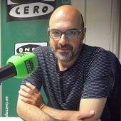 Premio Onda Cero de la Ciencia y la Investigación. Antonio Quesada, gerente de Eyesynth, las primeras gafas para ciegos, proyecto que ha surgido en Castellón