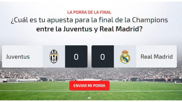 Porra final champions 2017