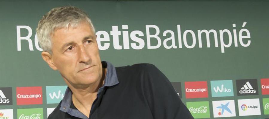 El nuevo entrenador del Betis, Quique Setién.