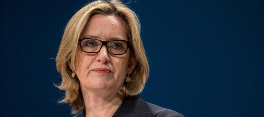 Amber Rudd, ministra británica de Interior
