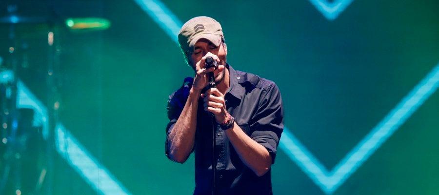Enrique Iglesias, en concierto