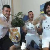Tres napolitanos se graban viendo la final de Champions