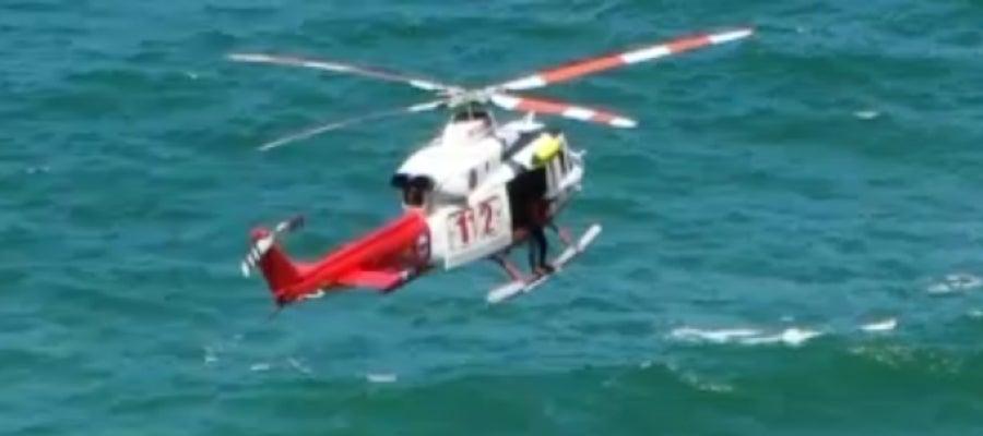 112 helicóptero del Gobierno de Cantabria