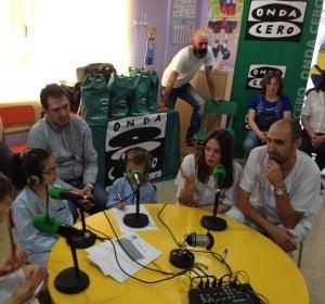Onda Cero Alcalá organiza su taller de radio en el Hospital de Alcalá