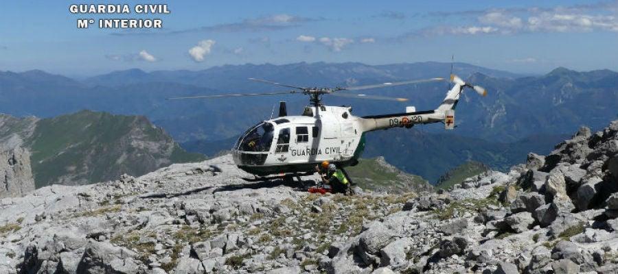 Rescate Pico Altaiz Picos de Europa