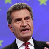 El comisario europeo alemán, Gûnter Oettinger