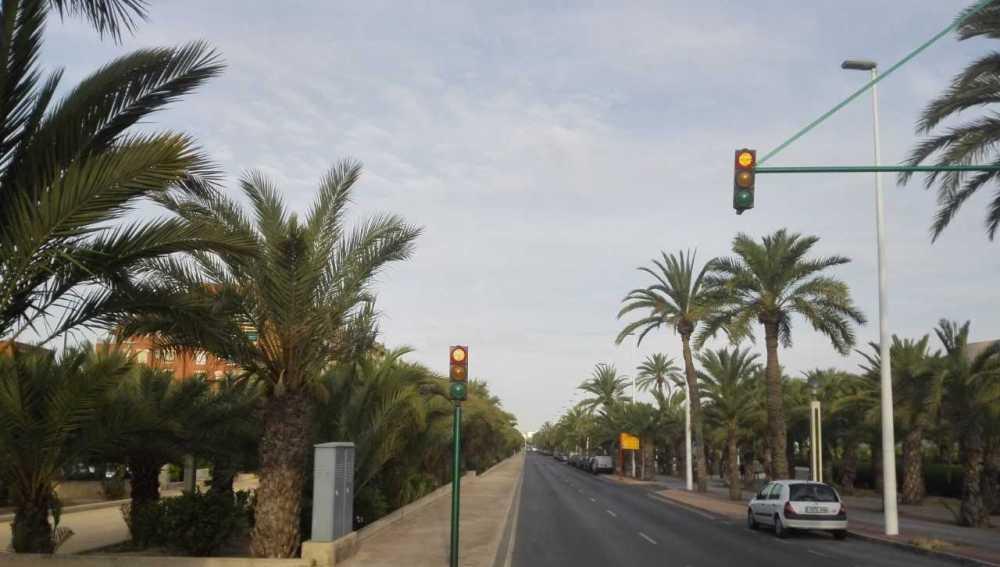 Avenida de la Universidad de Elche.