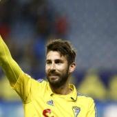 El jugador del Cádiz, Jose Mari.