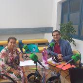 Javier Barbero junto a Eloisa Velarde