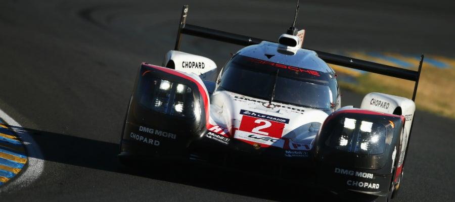 El Porsche LMP, en Le Mans