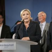 Marine Le Pen, líder de la ultraderecha francesa