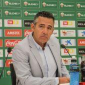 Diego García, presidente del Elche CF.