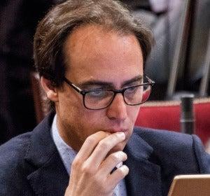 El diputado balear del PP, Álvaro Gijón
