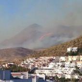 Incendio en Níjar
