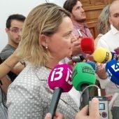 María Salom en Delegación de Gobierno