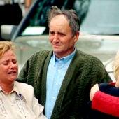 Familiares de Miguel Ángel Blanco tras recibir la noticia del secuestro del concejal