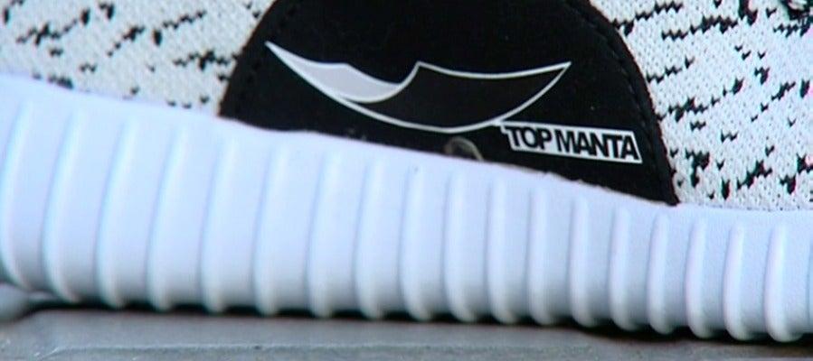 """Los manteros crean una marca propia, """"top manta"""""""