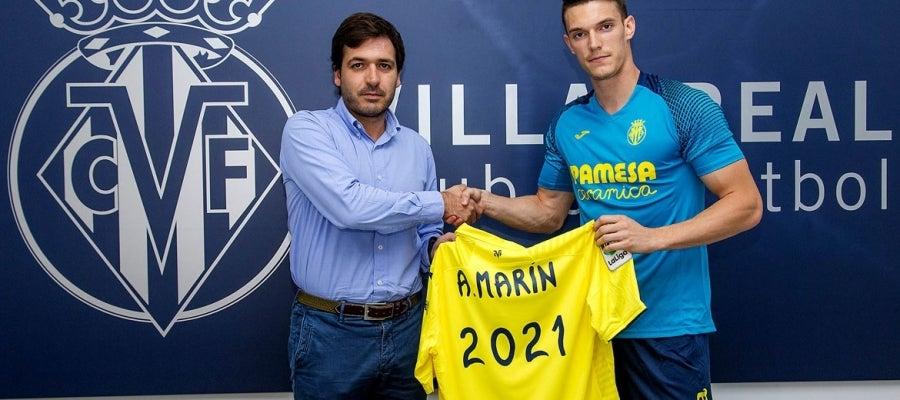 Adrián Marín amplía su vínculo con el Villarreal