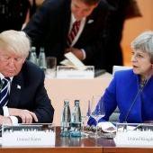 Donald Trump y Theresa May