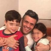 Leopoldo López junto a sus hijos