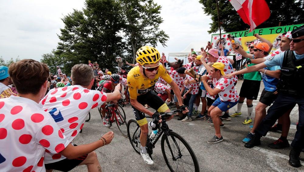 Froome, en la etapa reina del Tour
