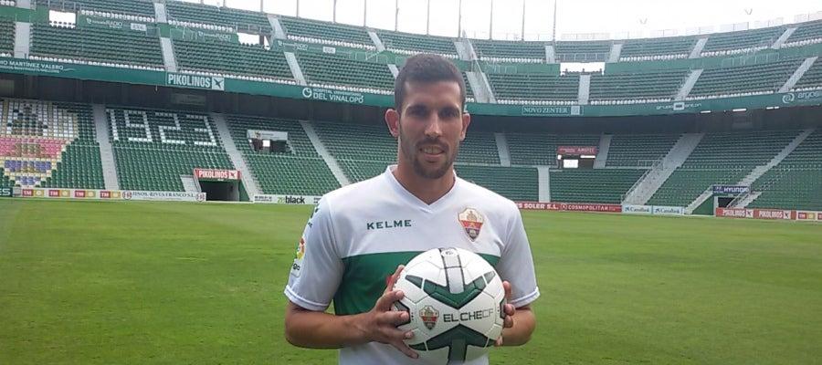 Sergio Blázquez 'Tekio', nuevo jugador del Elche CF.